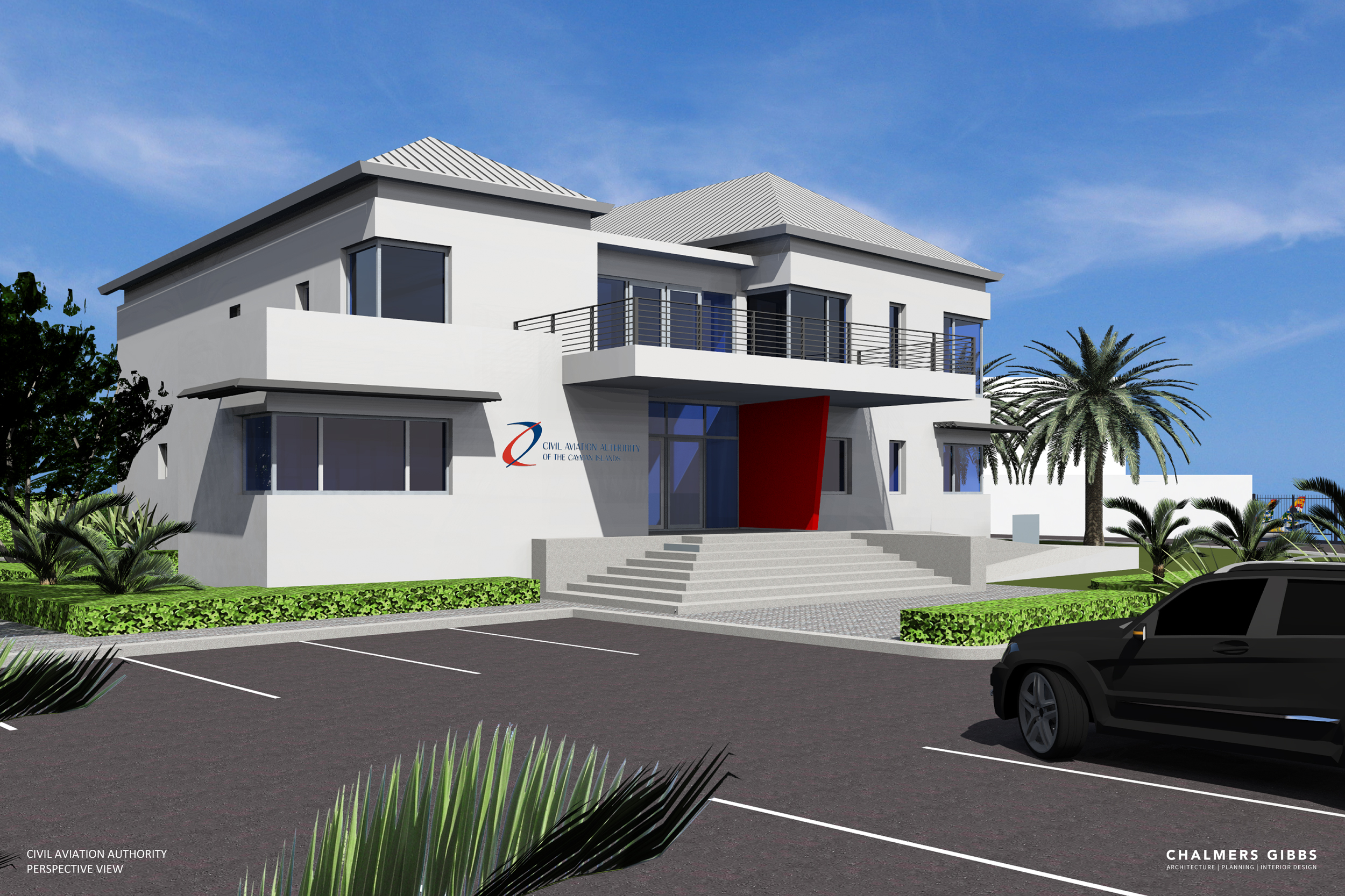 architectural rendering CAACI