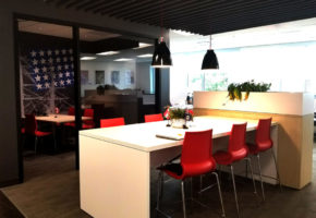 BBH Interior - Office View - Chalmers Gibbs Architects