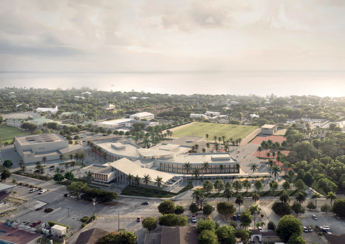 JGHS-Aerial-Chalmers-Gibbs-Institutional-Architecture